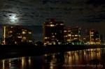 Coronado Shores in the moonlight