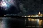 Fireworks over the Hotel Del Coronado