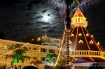 Hotel Del Coronado in the moolight