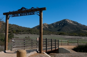 Iron Mountain with Sign