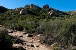 Rock Art on Hiking Trail
