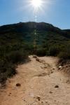 Sun Shining on Iron Mountain