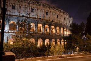 Coliseum After Dark