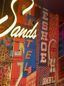 Sands Hotel Sign