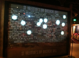 St. Valentines Day Massacre Wall
