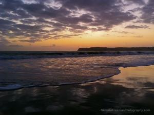 Beach Sunset On Coronado