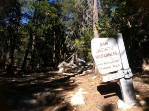 San Jacinto Wilderness Devils Slide trailhead