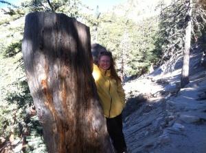 Vicki on Devils Slide