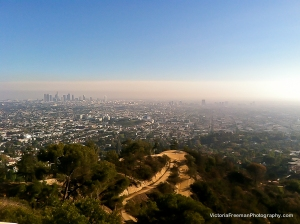 LA with Trails